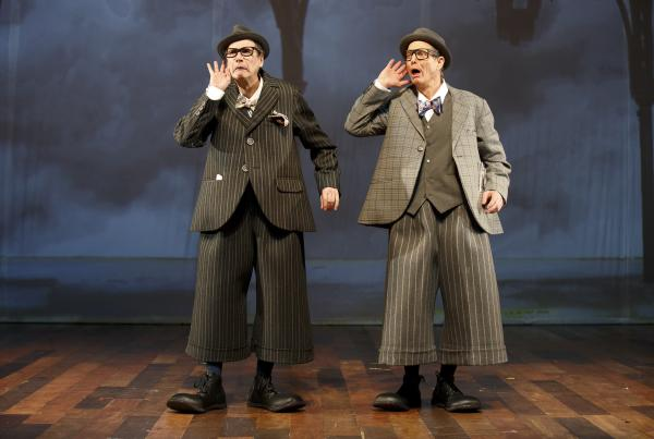 Shiner and Irwin last collaborated in <em>Fool Moon</em>, which premiered on Broadway in 1992.