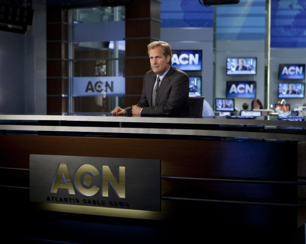 <em>The Newsroom, </em>starring Jeff Daniels, is one of the most popular American TV series in China. It's a favorite among a cadre of young, informal translators who see it as a way to challenge conventional Chinese thinking.