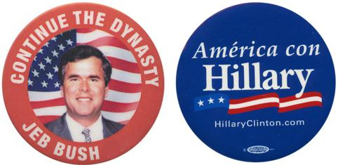 Ready for another Bush vs. Clinton election?
