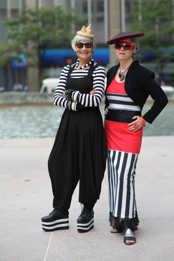 The Idiosyncratic Fashionistas, New York City, 2011