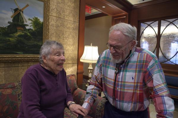 Hilda Baumol, 90, and Monte Malach, 85, shared their food memories as part of <em>Forgotten Foods of New York</em>, an oral history project.