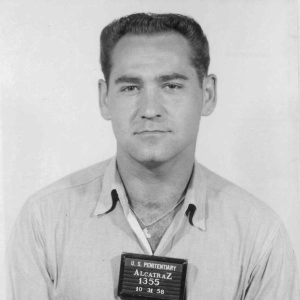 Robert Schibline was brought to Alcatraz in 1958, after he was caught robbing banks.