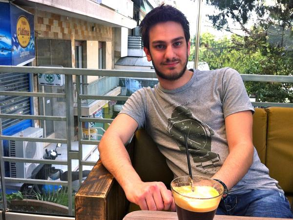 """In Europe, we're trying to save banks by sacrificing an entire generation — my generation,"" says Marios Kyriakou, 24."