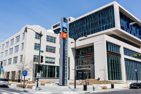 NPR's new home.