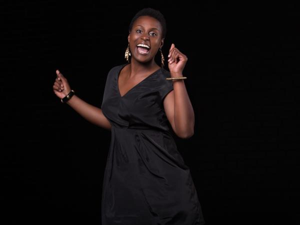 "Issa Rae tackles some uncomfortable code-switching situations in her series ""Awkward Black Girl."""