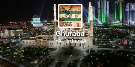The twitter account of @Al_firdausiA