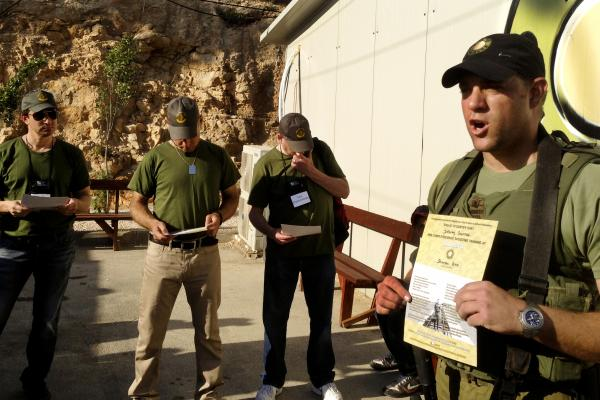 Caliber 3 instructor Steve Gar talks about Capt. Hagai Hayim Lev, a soldier who was killed leading an Israeli military operation in the Gaza Strip.