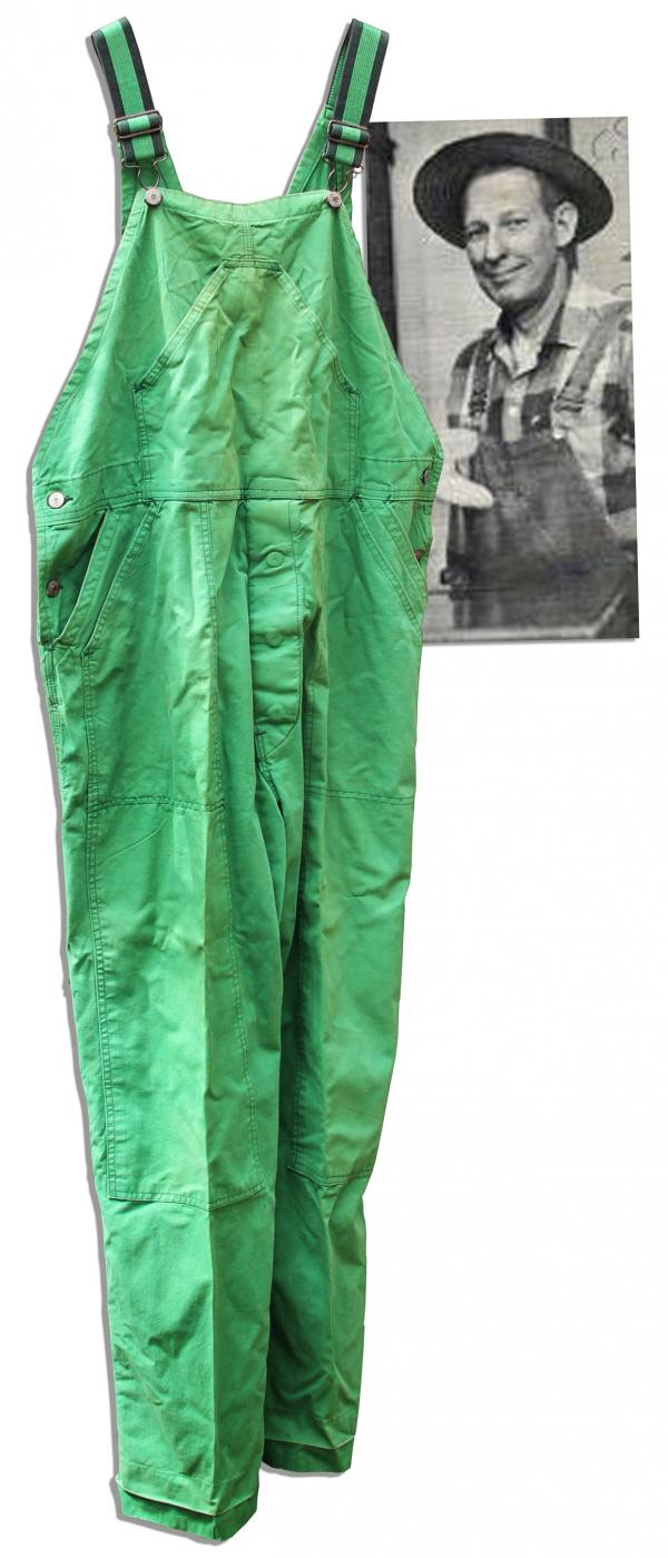 Mr. Green Jeans' famous jeans are also up for auction.