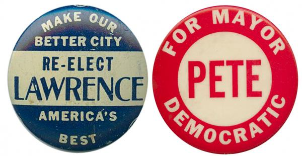 From Pittsburgh's past: David Lawrence (1946-58) is considered one of America's greatest mayors of all time.  Pete Flaherty (1970-77) also ran for governor and twice for the Senate.