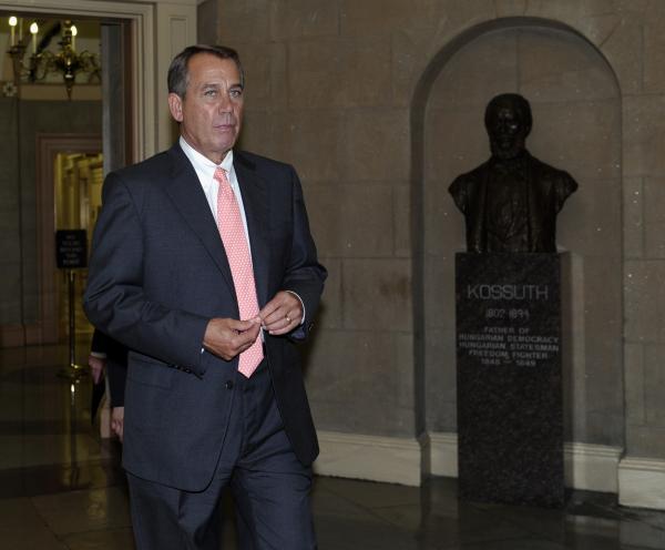 House Speaker John Boehner is getting flak from fellow Republicans over immigration legislation.