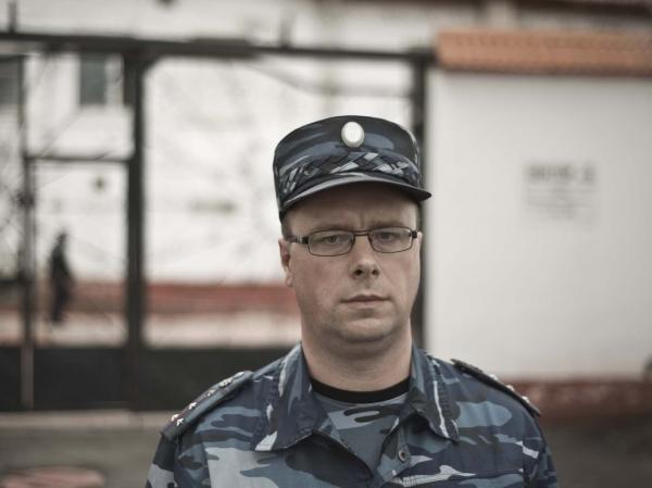 Alexander Leshchyov is the deputy warden at the Siberian prison where inmates are sent for tuberculosis treatment