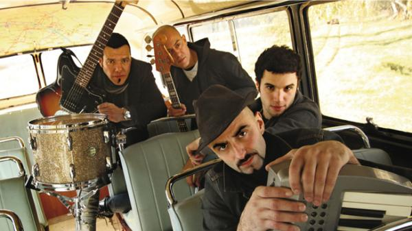 Argentine-rock band Catupecu Machu.