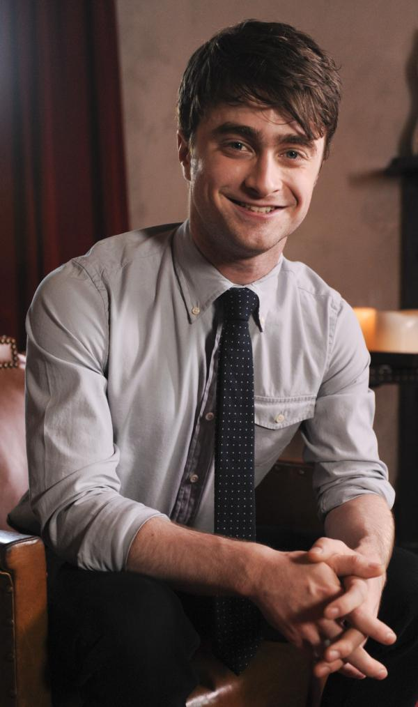 Actor Daniel Radcliffe.