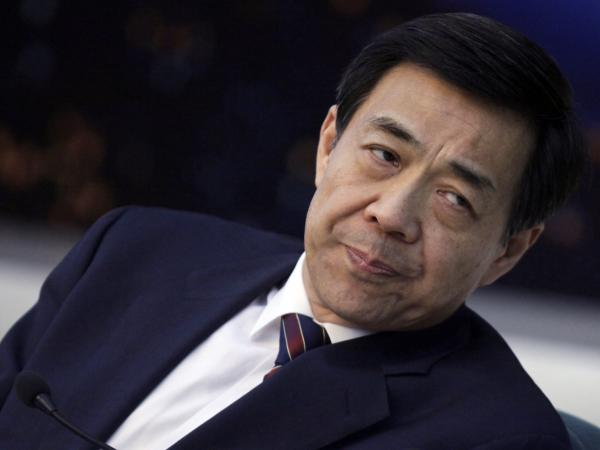 Before his fall: Bo Xilai in 2010.