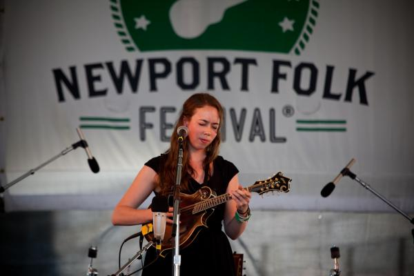 The versatile bluegrass star Sarah Jarosz plays new songs from her upcoming third album, <em>Build Me Up from Bones</em>, as well as Joanna Newsom and Bob Dylan covers.
