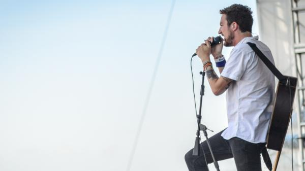 Frank Turner performs at the 2013 Newport Folk Festival.