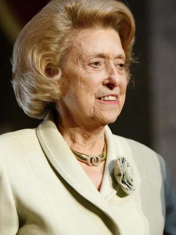 Former Democratic representative from Louisiana Lindy Claiborne Boggs attends the Distinguished Service Award ceremony at the Capitol on May 10, 2006.