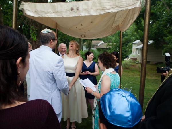 "And how did the bride respond to the NPR-themed vows? ""She loved it,"" Kosson said."