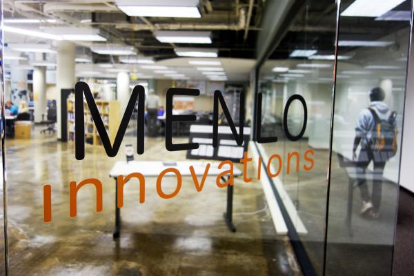 Menlo Innovations is staffed by about 50 employees, a mix of full-time staff and contractors.