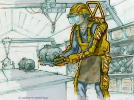 Concept art of the suit the Special Operations Command is trying to build.