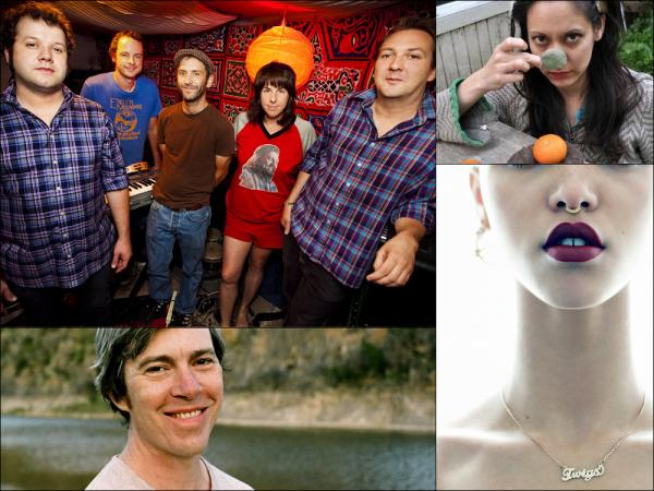 Clockwise from upper left: Elf Power, Aloonaluna, FKA Twigs, Bill Callahan