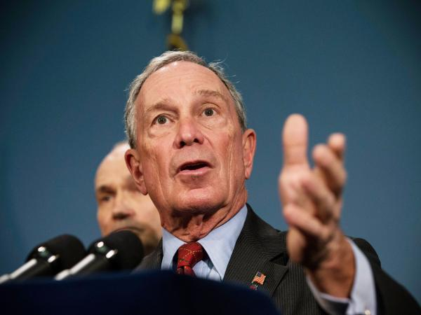 New York City Mayor Michael Bloomberg speaks at a news conference with New York Police Department Commissioner Ray Kelly last week.