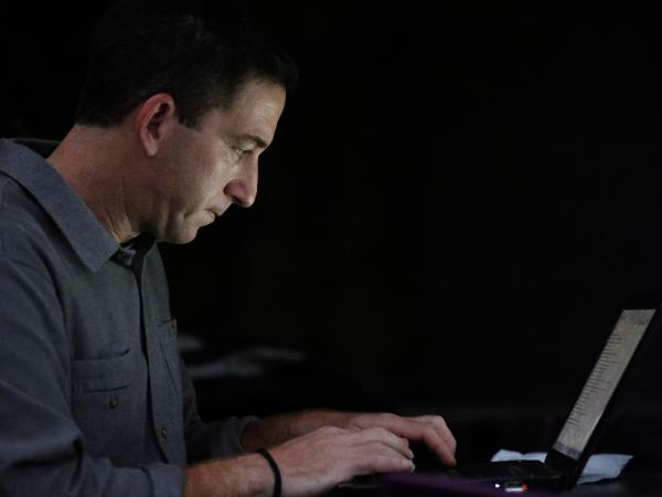 Glenn Greenwald is the blogger and journalist who broke the story about widespread surveillance by the National Security Agency. His partner, David Miranda, was detained at London's Heathrow Airport earlier this week.
