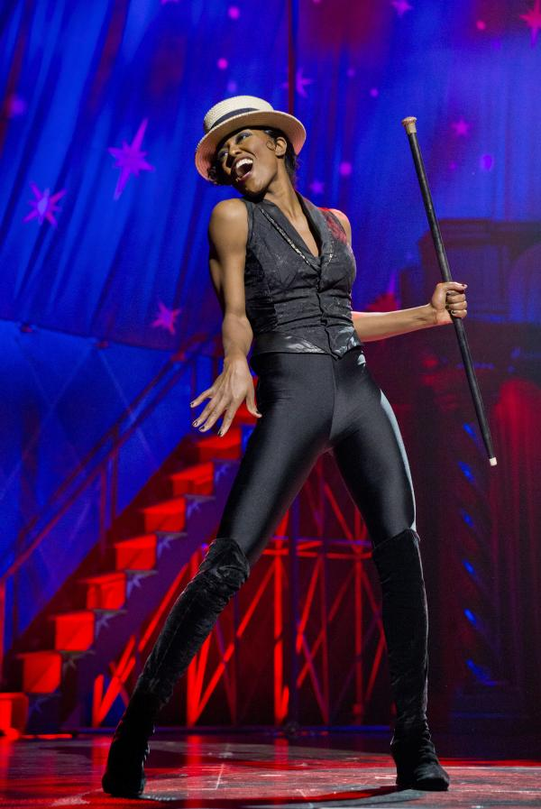 Patina Miller portrays Leading Player in the Broadway revival of <em>Pippin. </em>
