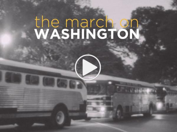 Fifty years after the March on Washington, five people recall their experiences.