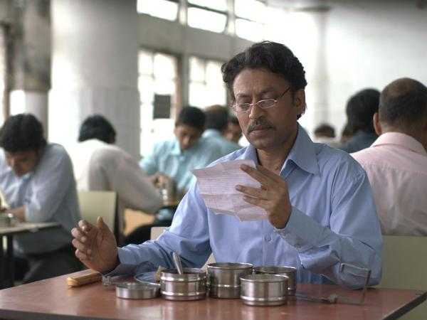 Irrfan Khan in <em>The Lunchbox</em>.