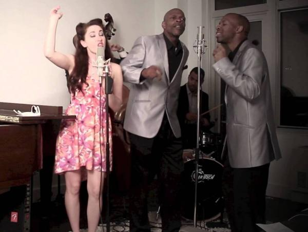 "The Postmodern Jukebox performs Miley Cyrus' ""We Can't Stop."""