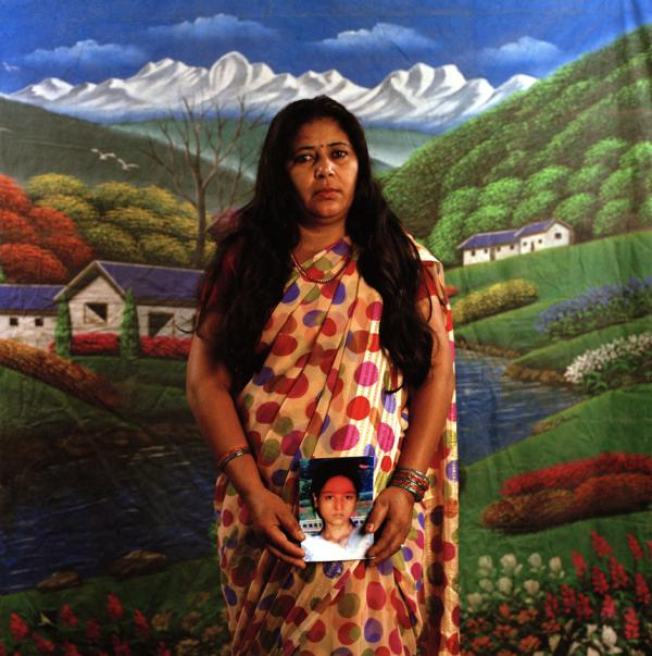 "Devi Sunuwar is the first Dalit woman to bring a murder case to the U.N. High Commissioner for Human Rights. Her achievements were covered in the documentary <em>The Sari Soldiers</em>. ""I was 21 when I gave birth to Maina. Maina was 15 and half years old when she was killed. I am very angry at the perpetrator of her death. I stand up and fight for the rights of women."""