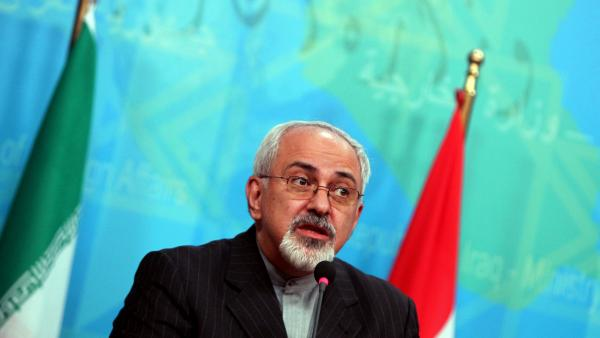 Iranian Foreign Minister Mohammad Javad Zarif speaks during a news conference earlier this month.