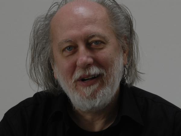 Laszlo Krasznahorkai is a Hungarian novelist and screenwriter best known for his novels <em>Satantango </em>and <em>The </em><em>Melancholy of Resistance.</em>