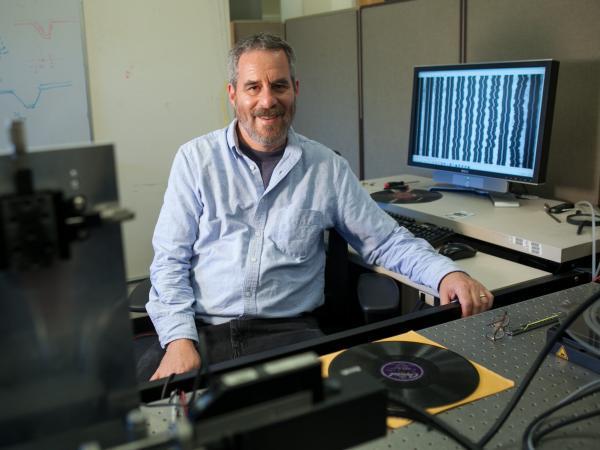 Carl Haber, 2013 MacArthur fellow.