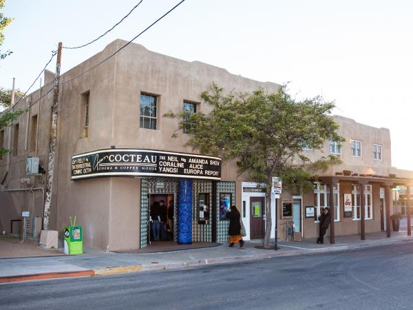 The Cocteau theater was dark for seven years until Martin purchased and renovated it. It reopened in early August.