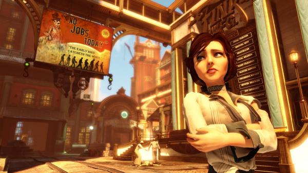 What's that worried look, Elizabeth? Could it be that there's more to <em>BioShock Inifinite</em> than meets the eye?