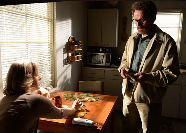 A scene from the last episode of Breaking Bad. (Ursula Coyote/AMC)