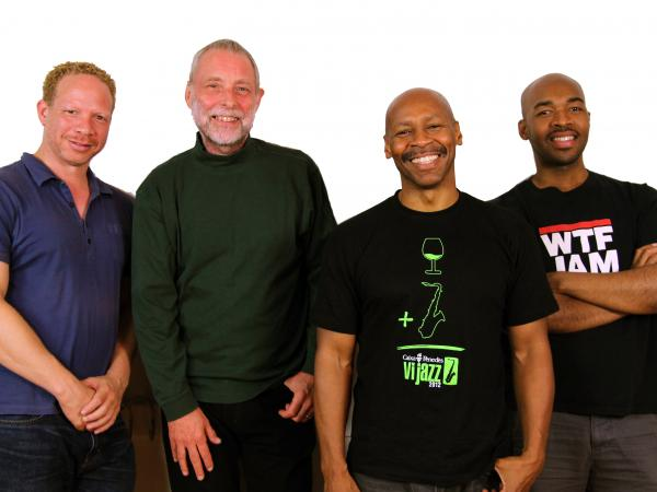 <em></em>Left to right: Craig Taborn (piano), Dave Holland (bass), Kevin Eubanks (electric guitar), Eric Harland (drums).