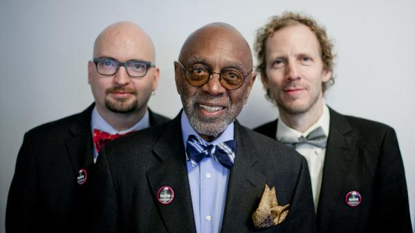 "From left: pianist Ethan Iverson, drummer Albert ""Tootie"" Heath and bassist Ben Street."