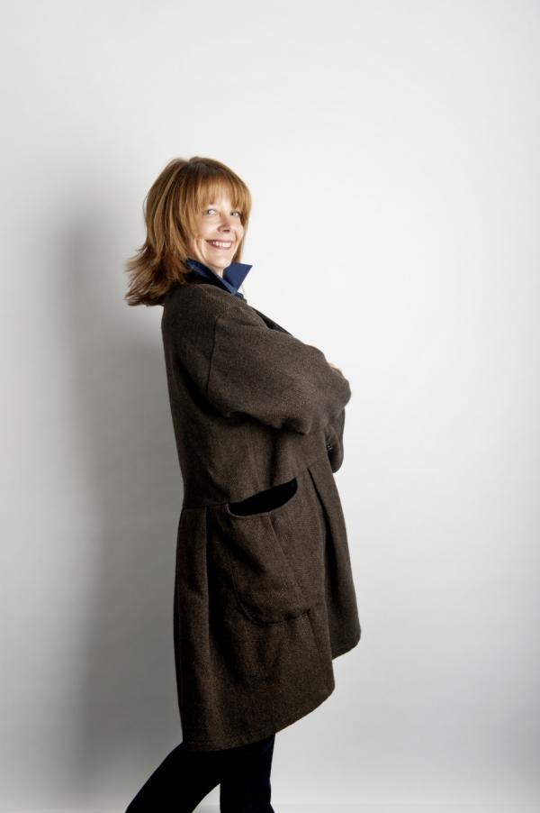Cynthia Thomas (A.K.A. Diane Keaton). (Photo by Webb Chappell, courtesy of The Boston Globe Magazine)