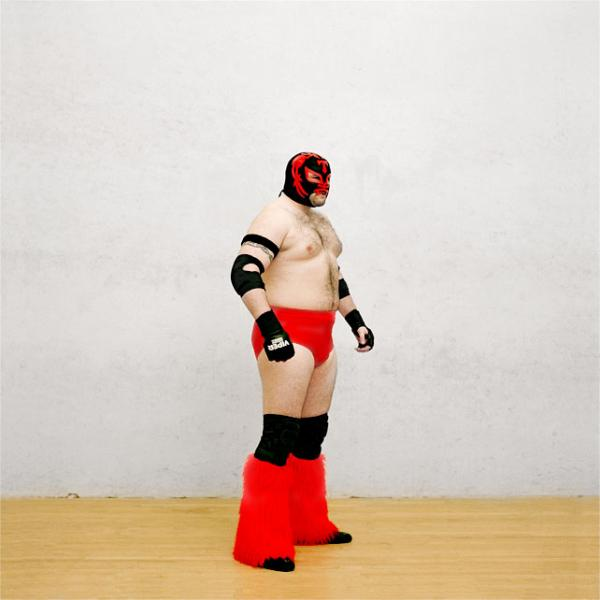 From the series <em>Wrestlers.</em>