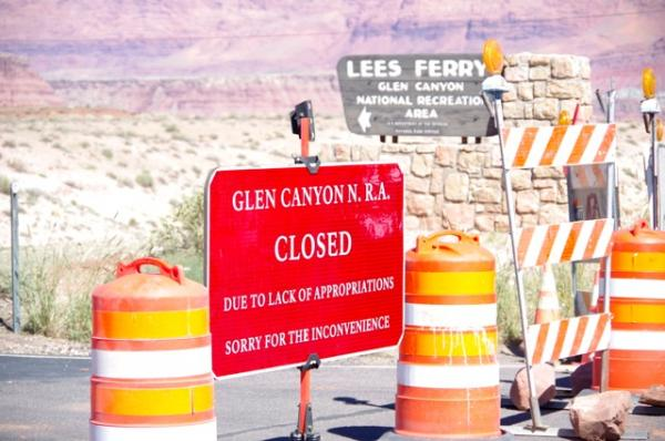 Government Shutdown Hits National Parks