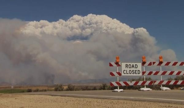 Clouds of smoke as big as thunderheads billowed over communities in Central Idaho this summer.