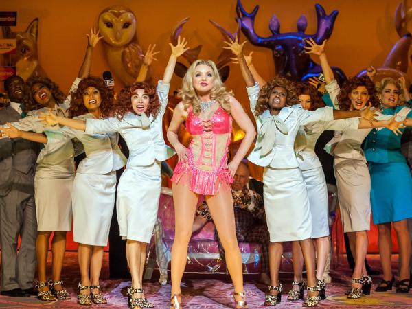 The New York City Opera let its final curtain fall Saturday night at the Brooklyn Academy of Music in a production of <em>Anna Nicole</em> by Mark-Anthony Turnage.