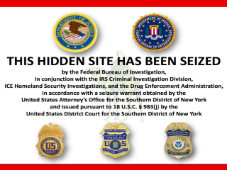 The message that greets visitors to Silk Road, the vast online marketplace for illicit goods and services.