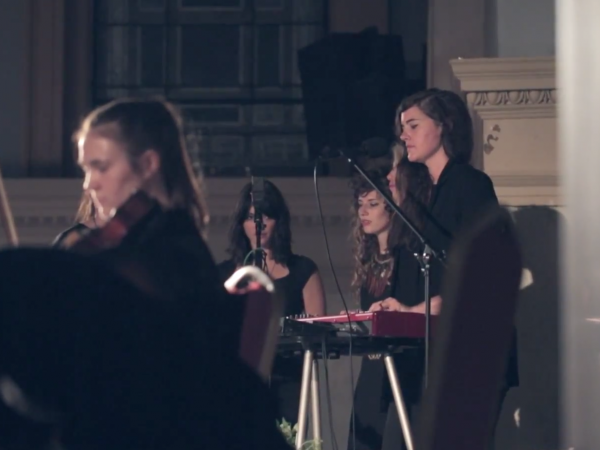 Julianna Barwick at Judson Memorial Church in New York City