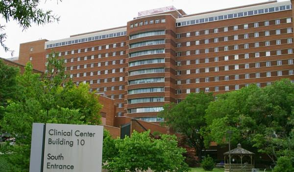National Institutes of Health Clinical Center in Bethesda, Maryland. (Christopher Ziemnowicz/Wikimedia Commons)