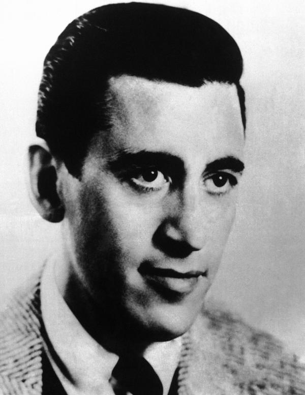 J.D. Salinger shown in September 1961.