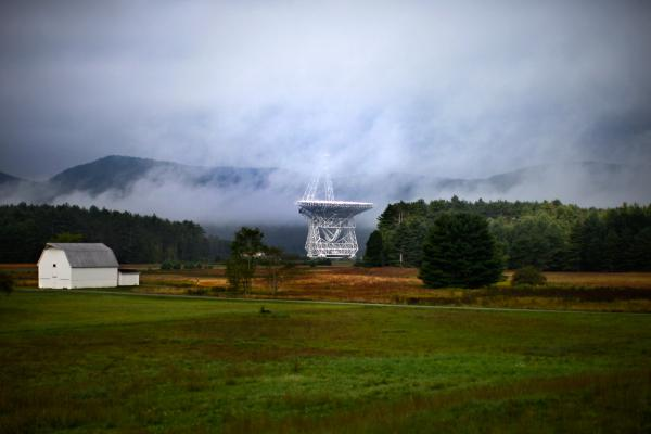 The Robert C. Byrd Green Bank Telescope is protected from interference by federal and state laws. The Green Bank, W. Va., telescope works by tracking and reading the energy waves that come from stars or gases, but it needs to be located in sparsely populated areas to avoid electromagnetic interference.
